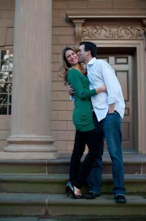 Engagement Portrait by M Benedicte Verley Photography